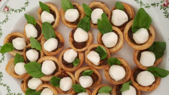 Homemade Canapes £1.75 - £2.00  per canape per head